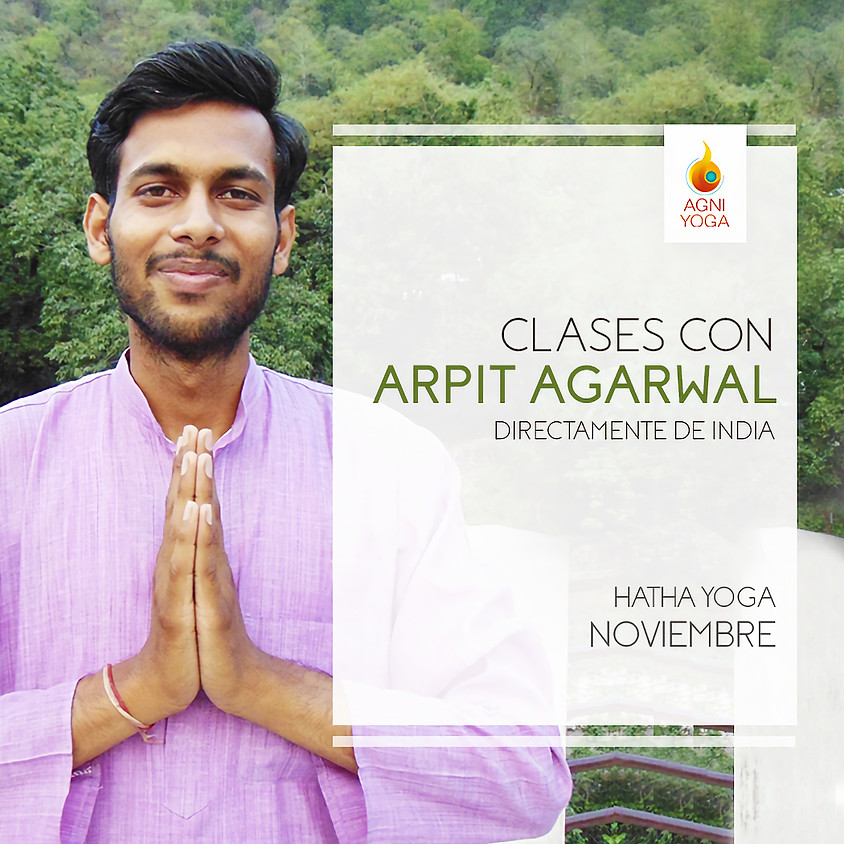 Clases junto Arpit Agarwal