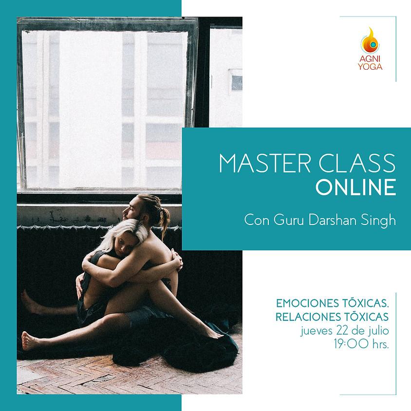 Master Class: Emociones tóxicas, relaciones tóxicas