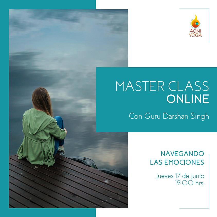 Master Class: Navegando nuestras emociones