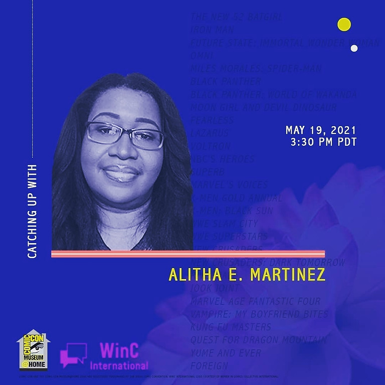 Catching Up with Alitha E. Martinez