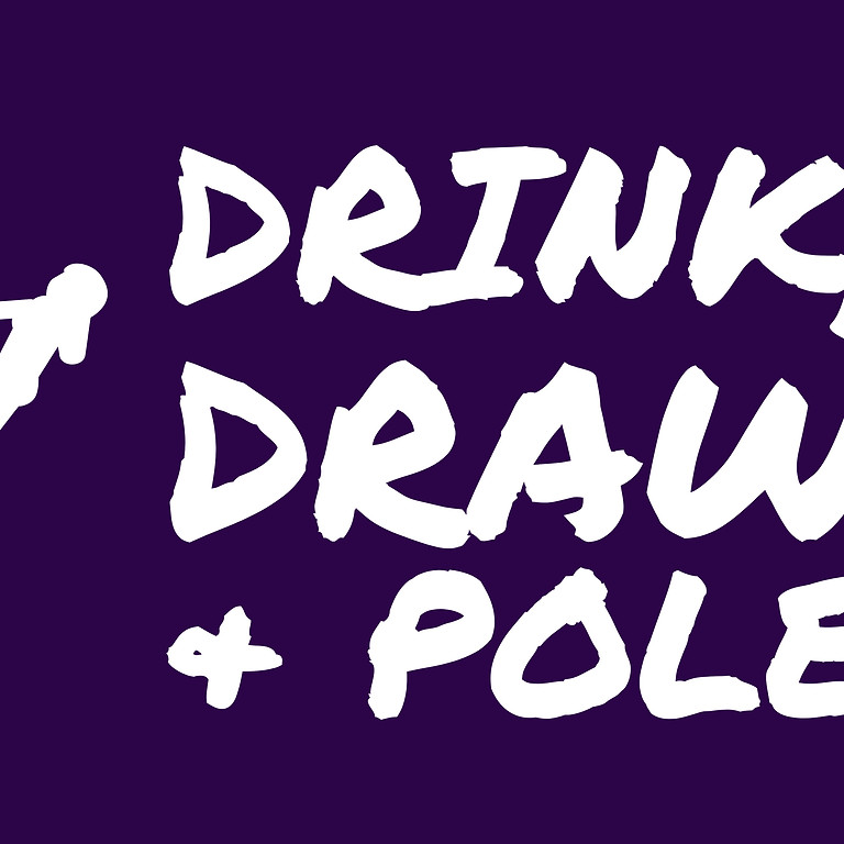 Drink, Draw & Pole: Comics & Cocktails Edition