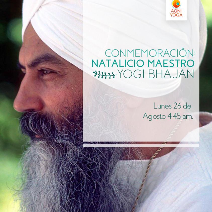 Natalicio del Maestro Yogi Bhajan