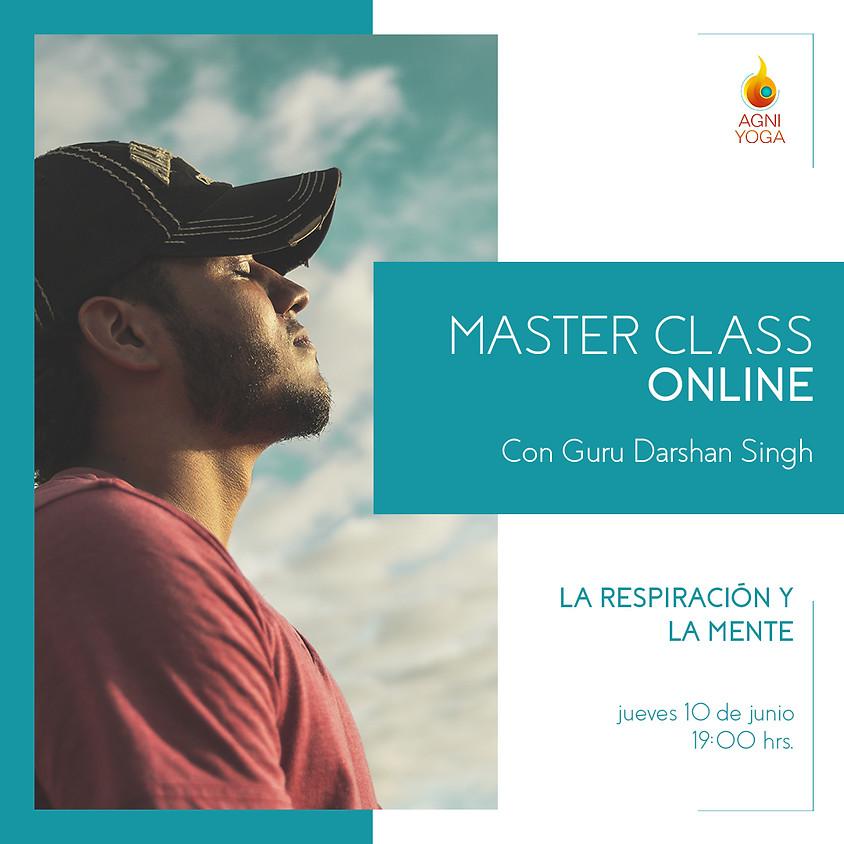 Master Class: La respiración y la mente