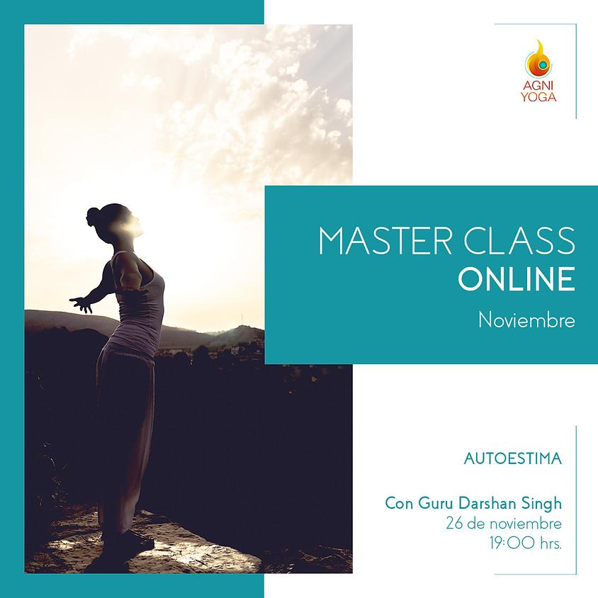 Master Class: Autoestima: Aquello que nos decimos a nosotr@s mism@s tiene una raíz y una razón