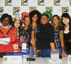 Women of Color in Comics Panel SDCC 2017