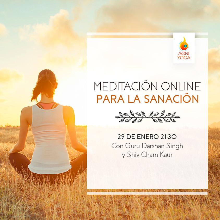 Meditación de sanación online