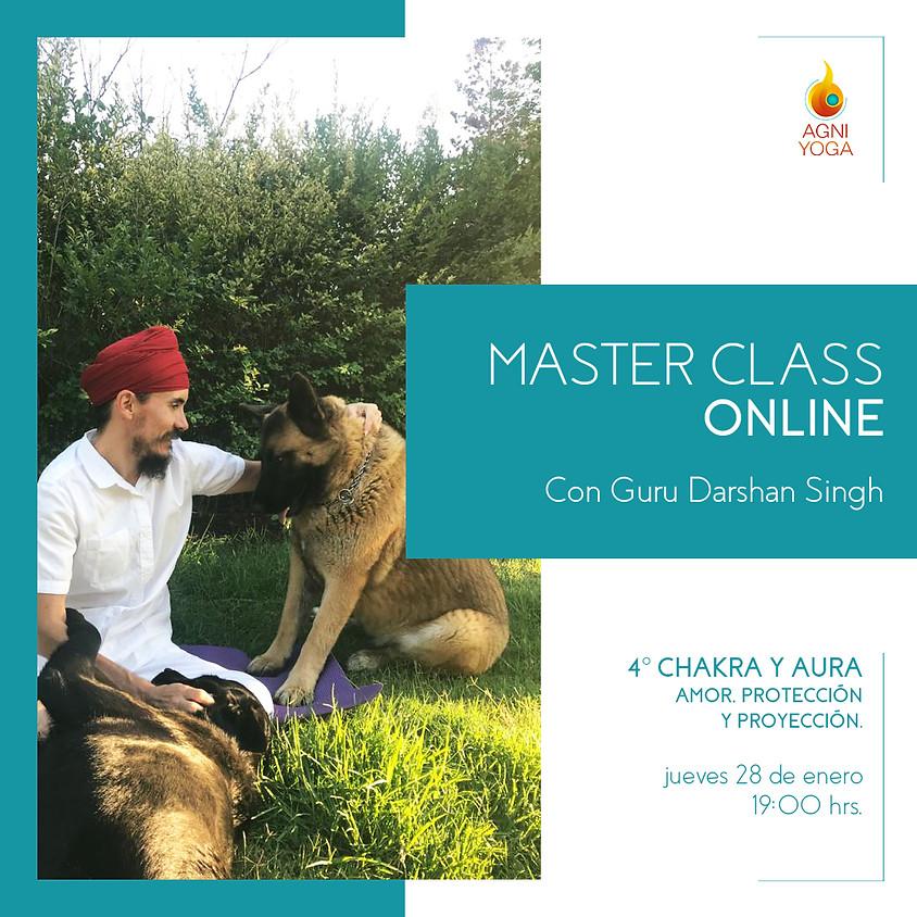 Master Class: 7° chakra y Aura. Amor, protección y proyección.