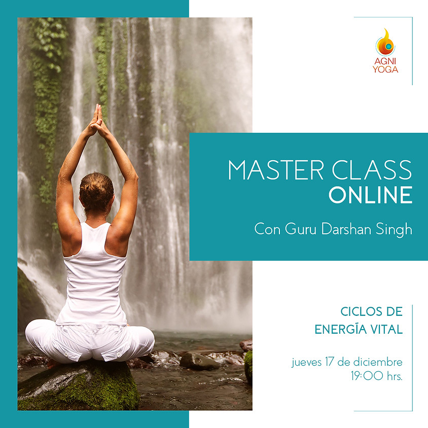 Master Class: Ciclos de Energía Vital
