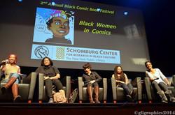 Black Women in Comics Panel at BCBF 2014