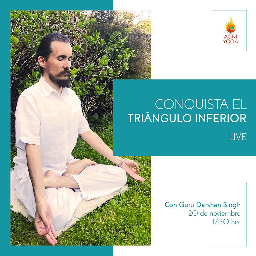 Live: Conquista el triángulo inferior