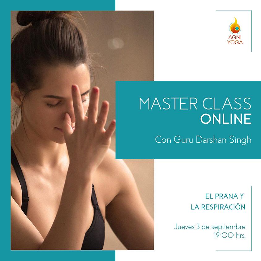 Master Class: El Prana y la respiración.
