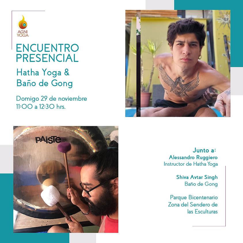 Encuentro Presecial: Hatha Yoga & Baño de Gong