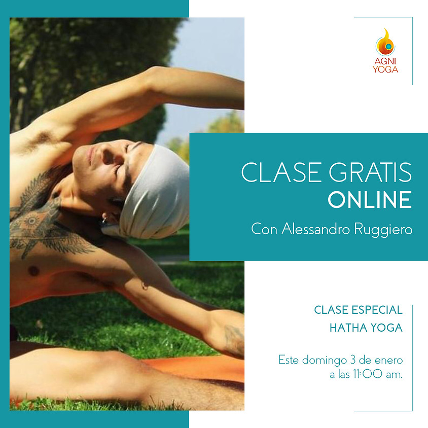 Clases Gratis: Hatha Yoga Con Alessandro Ruggiero