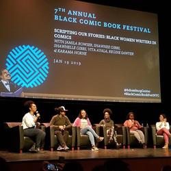 Black Women Writers in Comics BCBF 2019