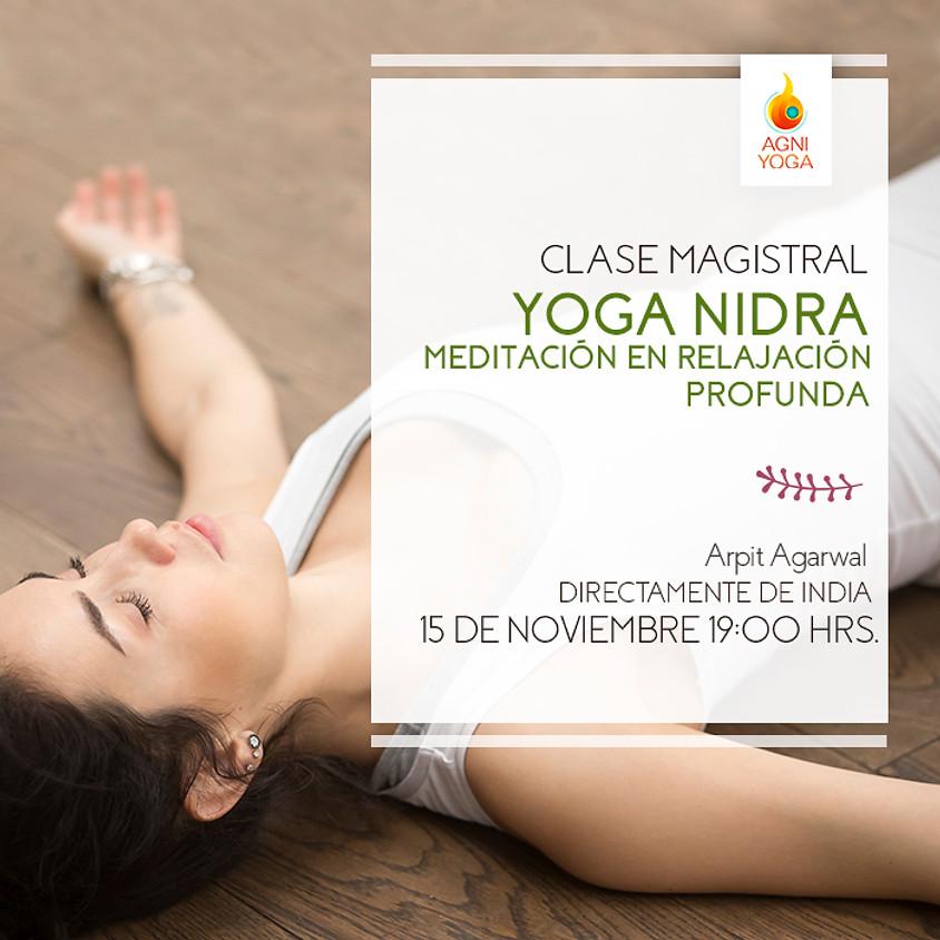 Master Class Yoga Nidra