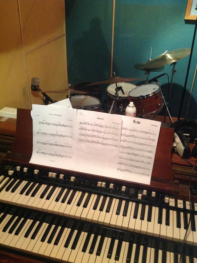 Steve Thompson jazz ensemble recording