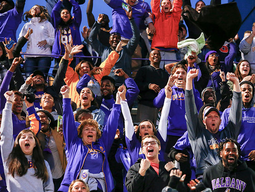 Bringing the Purple and Gold to Stands