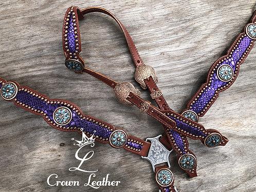 2011 Style Purple Mystic Tack Set