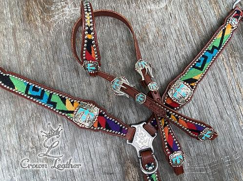 2020 Style Rainbow Pendleton Wool Set