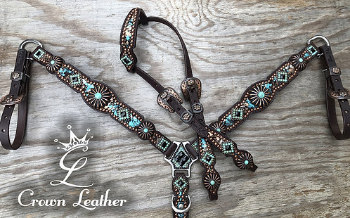 2011 Style Set with Metallic Turquoise & Copper