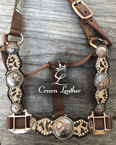 2018 Style Halter with Cheetah Overlay