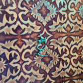 Turquoise & Brown Laredo
