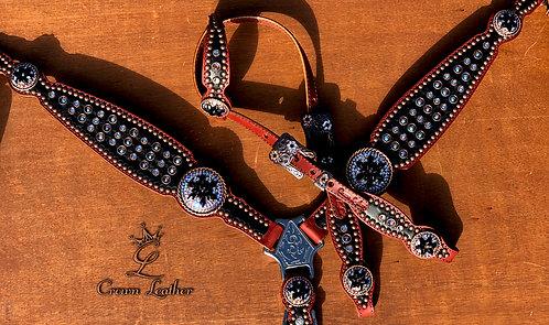 2012 Style Light Colorado Topaz Shimmer Tack Set