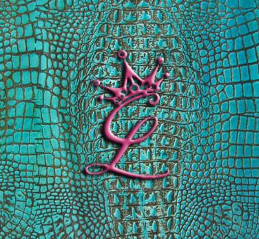 Turquoise Croc