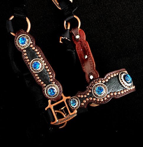 2013 Style Blue Paua Stone Halter
