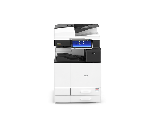 The MP C501SP offers an impressive 50ppm print speed, high paper capacity, optional integrated finishing capability and renowned durability. Accelerate your business efficiency with a high-end smart MFP specifically designed to help you get more done.