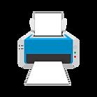 Printer icon representing print at Innani
