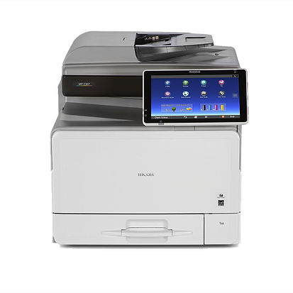 Work more efficiently, more effectively and more flexibly with a compact A4 colour MFP that fits almost any convenient space in any small to mid-sized office, and enables document printing from mobile smart devices via numerous connection options. You can complete jobs more quickly with the Ricoh MP C407SPF's swift 40 ppm print output, fast processing and the easy operation of the intuitive Smart Operation Panel. It's not just the Ricoh MP C407SPF that's more productive – it's you and your business.