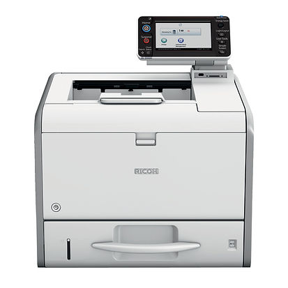 When you're ready to print, your printer is too. The SP 4520DN is innovation wrapped up in a small footprint and it's perfect for small to medium-sized workgroups. It's designed to simplify the way you work and keep your business moving forward thanks to its stunning performance, high speed and a 4.3 inch colour touch panel for improved workflow. It even offers best-in- class environmental credentials and superb cost efficiency too.