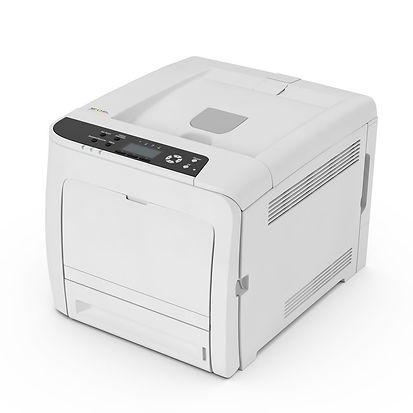 With its versatility and speed, the SP C340DN A4 colour printer more than meets the demands of most small to medium sized offices. Its high-speed processor means you can process large documents faster – and the low start-up costs mean you can be super productive, without worrying about overheads. The high-volume print capacity and paper handling options all add to the efficient productivity of this compact, user-friendly model.