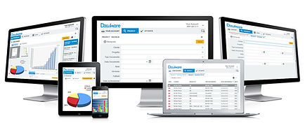 Docuware document management software on multiple devices