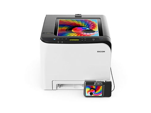 The image quality is high, the colours are vibrant and the reliability is exceptional. You will enhance efficiency and strengthen productivity. All for an upfront cost lower than many a competitor's offering, and all packed into a neat, compact footprint. The Ricoh SP C261DNw works hard for your money and repays you day after day with smooth output and very accommodating flexibility. This is a compact, attractively affordable desktop A4 MFP with a remarkable range of features that can help any small to mid-size business move things forward.