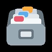 Digital Document Folder Icon