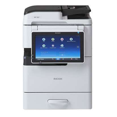 This compact A4 MFP is ideal for small to medium-sized offices that need the flexibility to print A3. With a 30 ppm speed, its intuitive Smart Operation Panel is easy to use, and it allows you to manage your documents directly from the panel. And thanks to its quiet operation and small footprint, this device is ideal choice if you want a feature rich MFP that takes up little office space.