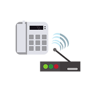 Connectivity icon representing VOIP