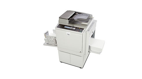 The DD4450 A3 B/W digital duplicator is a robust mid-range model offering excellent performance at an affordable cost. Running at a fast print speed of up to 130 cpm, and offering high-quality image duplication, the DD4450 is equipped with a user-friendly operation panel, an integrated network controller, @Remote capabilities, and innovative features to ensure smooth paper transfer. It is  particularly suitable for educational institutions, government offices and NGOs.