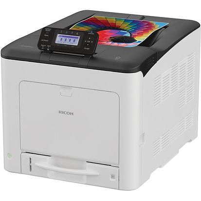 The compact, reliable Ricoh SP C360DNw is designed for small teams that need convenient, frequent printer access. With its small footprint and full-front operation, this A4 LED colour printer is ideal suitable for desktop, countertop or under counter use. Eco-friendly with a low Typical Electricity Consumption, it includes Ricoh's hallmark low-power sleep mode to help you meet your environmental goals. Simple to use and install, the SP C360DNw provides precise, fast prints at an attractive purchase price.