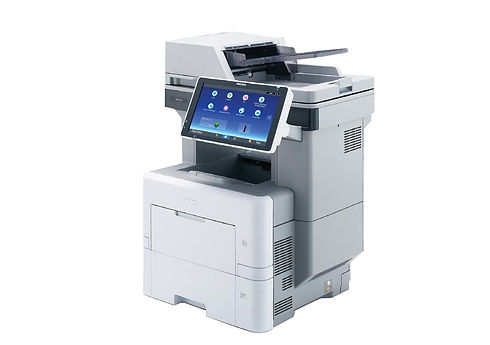 With a faster print speed at 50 ppm and a large 10.1 inch Smart Operation Panel, you get compatibility and commonality with other Ricoh devices. But what's perhaps more important is the sheer range of work you can complete, including the ability to take on complex tasks much more efficiently. And when this is combined with a small footprint and durability, you get a printer that will be with you as your business grows.