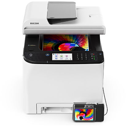 Meet your business needs across all types of printing in almost any environment, from almost anywhere, day after day, with the dependable, feature-rich Ricoh SP C260SFNw. Enliven presentations and communications with eye-catching colour output, and make the most of a powerful combination big performance, high quality and great affordability.  The many advantages are all packed into a compact footprint, so you save space and make your workspace more efficient and more comfortable.