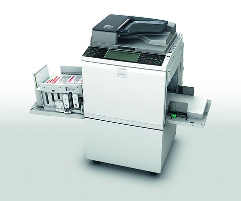 Be prepared to be astounded by Ricoh's flagship digital duplicator, the DD 6650P. It speeds along at an incredible 135 pages per minute to totally transform your printing productivity. At the same time you will benefit from the best image reproduction in its class. Ultra-reliable and remarkably easy to operate, the DD 6650P will meet all your needs for high-quality, highvolume printing. And that's not all. It comes fully network-ready, incorporates comprehensive reporting, and is equipped with innovative, environmentally-friendly, energy-saving features.