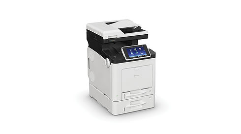 The Ricoh SP C360SFNw offers simple operation in a compact, affordable package. Designed for small teams that need frequent, convenient multifunction printer access, this A4 LED colour MFP fits neatly on a counter or desk. The SP C360SFNw comes with print, copy, scan and fax functionality and offers WiFi as standard for fast, simple network connectivity straight out of the box. It's also eco-friendly with a low Typical Electricity Consumption value and Ricoh's hallmark low power consumption in sleep mode.
