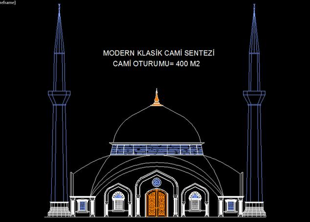 MODERN KLASİK SENTEZİ CAMİ - 400 M2.PNG