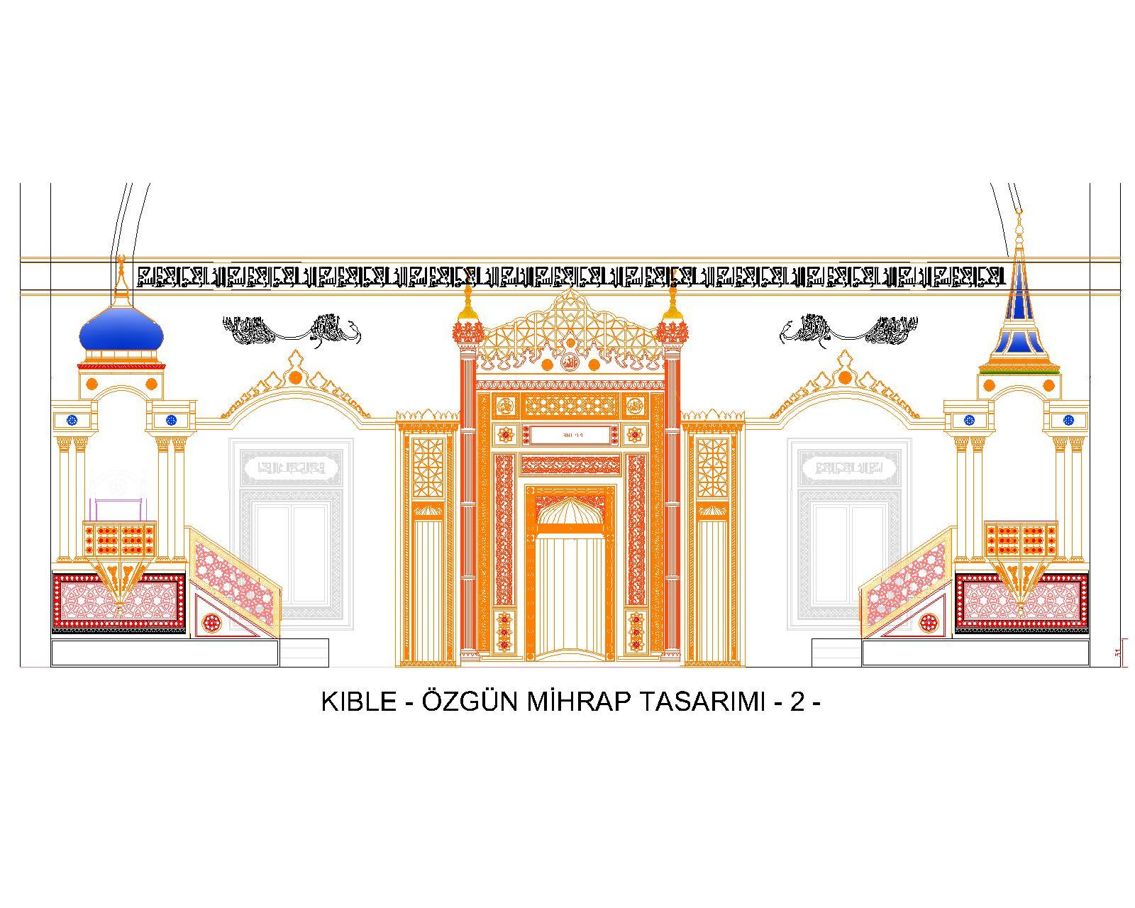 YB.ÖZGÜN KIBLE TASARIMI - 2-