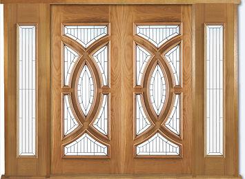 majestic external oak doors + sidelights