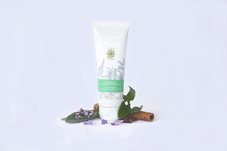 Tooth Paste with sage, mint clove and cinamon
