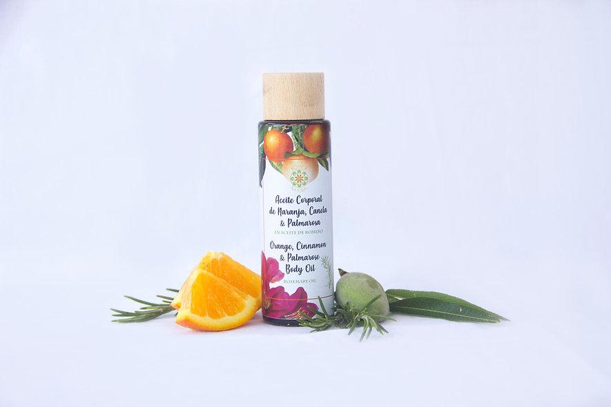 Orange and Palmarosa Body Oil